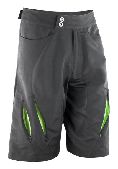 Spiro bikewear off-road shorts - Black/Lime - Spiro