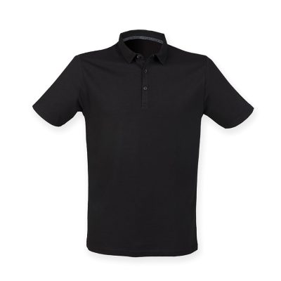 Fashion polo - Black - SF
