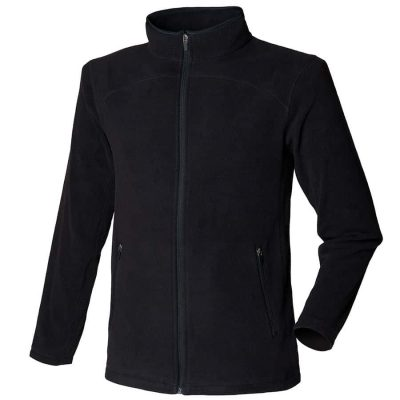 Microfleece jacket - Black - SF