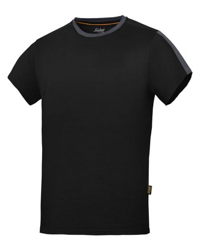 AllroundWork t-shirt (2518) - Black/Steel Grey - Snickers