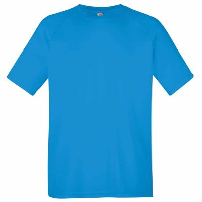 Performance tee - Azure Blue - Fruit of the Loom