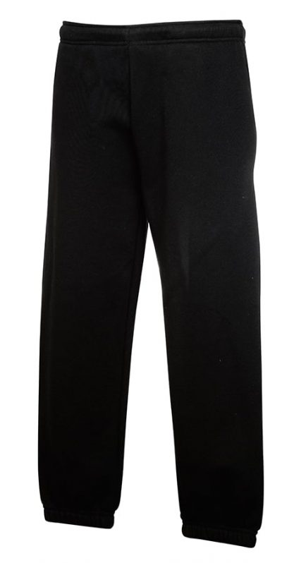 Classic 80/20 kids jog pants - Black - Fruit of the Loom