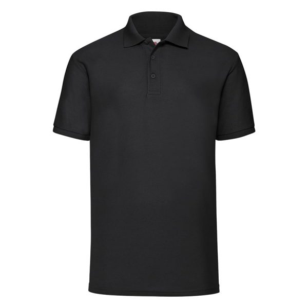 65/35 Polo - Black - Fruit of the Loom