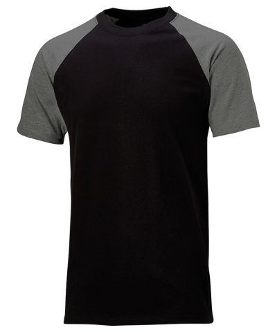 Two tone t-shirt (SH2007) - Black/Grey - Dickies