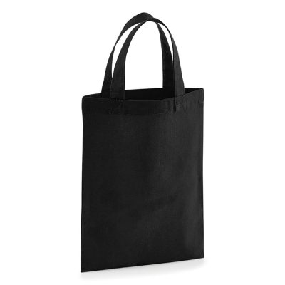Cotton party bag for life - Black - Westford Mill