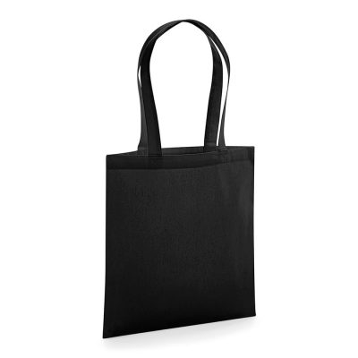 Organic premium cotton tote - Black - Westford Mill