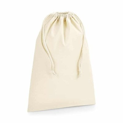 Organic premium cotton stuff bag - Natural - Westford Mill