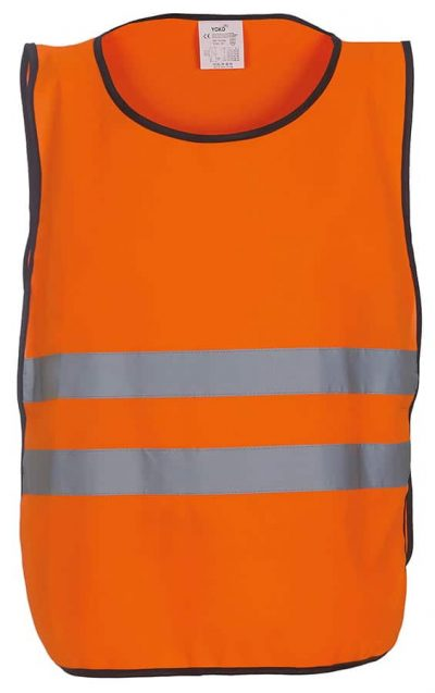 Hi-vis 2-band tabard (HVJ269) - Orange - Yoko