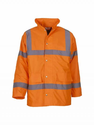 Hi-vis classic motorway jacket (HVP300) - Orange - Yoko