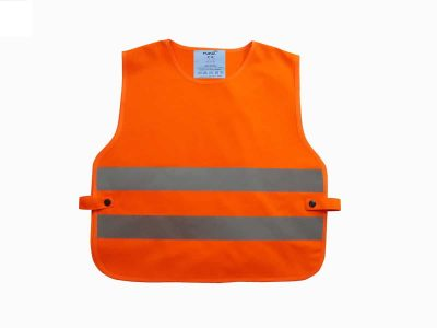Kids hi-vis 2-band tabard (HVS269CH) - Orange - Yoko