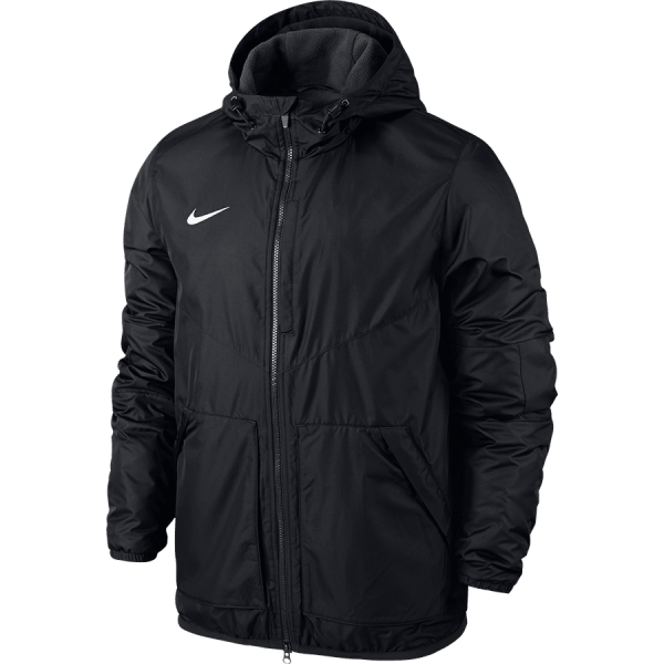 TEAM FALL JACKET - BLACK/ANTHRACITE/WHITE