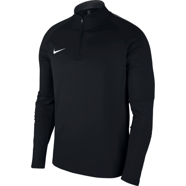 Nike DRY ACADEMY18 DRIL TOP Long Sleeve - BLACK/ANTHRACITE/WHITE