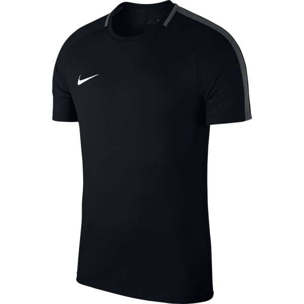 Nike DRY ACADEMY18 TOP Short Sleeve - BLACK/ANTHRACITE/WHITE