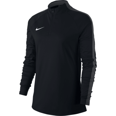 Women Nike DRY ACADEMY18 DRIL TOP Long Sleeve - BLACK/ANTHRACITE/WHITE