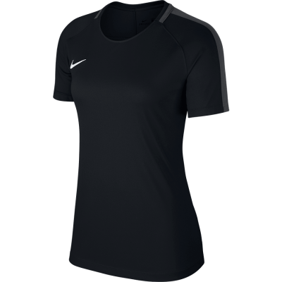 Women Nike DRY ACADEMY18 TOP Short Sleeve - BLACK/ANTHRACITE/WHITE