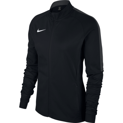 Women Nike DRY ACADEMY18 TRACK JACKET KNITTED - BLACK/ANTHRACITE/WHITE