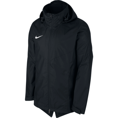Nike REPEL ACADEMY 18 RAIN JACKET - BLACK/BLACK/WHITE