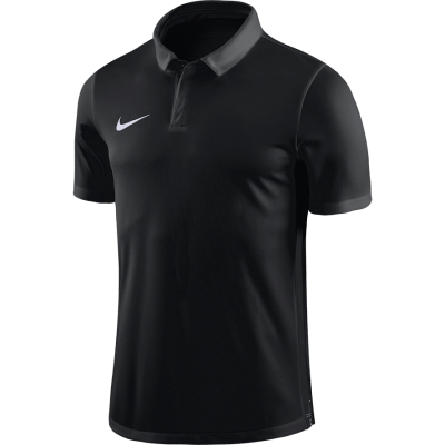 Nike DRY ACADEMY18 POLO Short Sleeve - BLACK/ANTHRACITE/WHITE