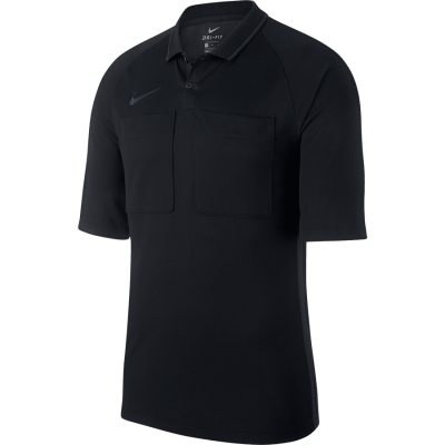 Nike DRY REF Jersey Short Sleeve - BLACK/ANTHRACITE/ANTHRACITE