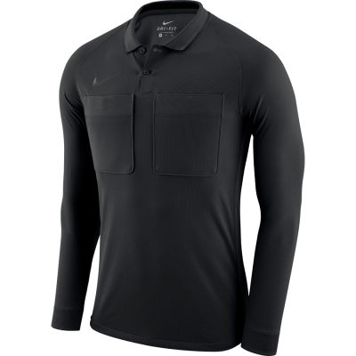 Nike DRY REF Jersey Long Sleeve - BLACK/ANTHRACITE/ANTHRACITE