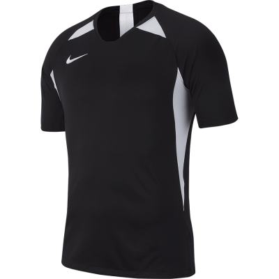 Nike DRY LEGEND Jersey Short Sleeve - BLACK/WHITE/WHITE/WHITE
