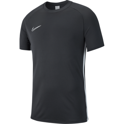 Nike DRY ACADEMY19 TOP Short Sleeve - ANTHRACITE/WHITE/WHITE