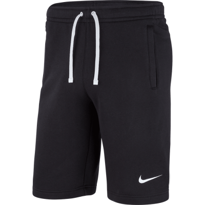 SHORT FLEECE TEAM CLUB19 - BLACK/BLACK/WHITE/WHITE