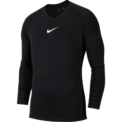 Nike DRY PARK 1ST LAYER Jersey Long Sleeve - BLACK/WHITE