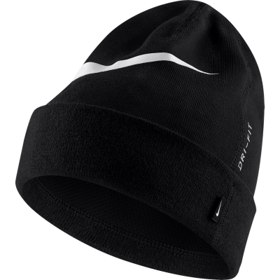 UNISEX  NIKE BEANIE GFA TEAM - BLACK/WHITE