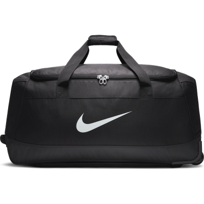 Nike Club Team Roller Bag - BLACK/BLACK/WHITE