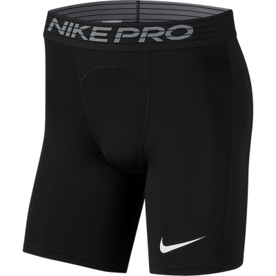 NIKE PRO SHORT - BLACK/WHITE