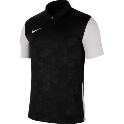 Nike TROPHY IV Jersey Short Sleeve - BLACK/WHITE/WHITE