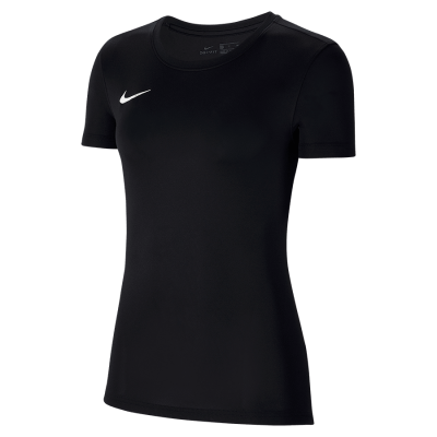 Women Nike DRY PARK VII Jersey Short Sleeve - BLACK/WHITE