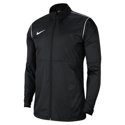 Nike REPEL PARK20 RAIN JACKET W - BLACK/WHITE/WHITE