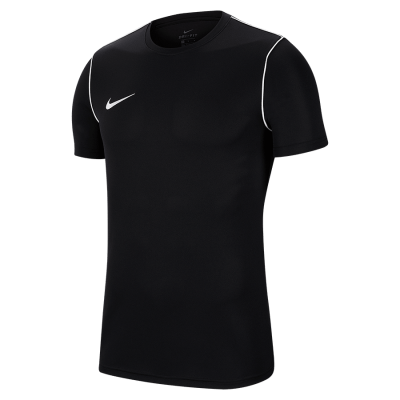 Nike DRY PARK20 TOP Short Sleeve - BLACK/WHITE/WHITE