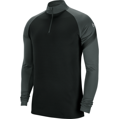 Nike DRY ACADEMY PRO DRIL TOP - BLACK/ANTHRACITE/BLACK/WHITE