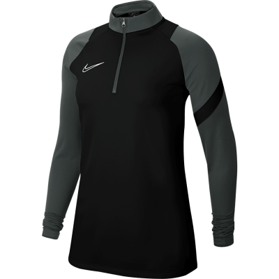 Women Nike DRY ACADEMY PRO DRIL TOP - BLACK/ANTHRACITE/BLACK/WHITE