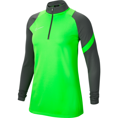 Women Nike DRY ACADEMY PRO DRIL TOP - GREEN STRIKE/ANTHRACITE/WHITE