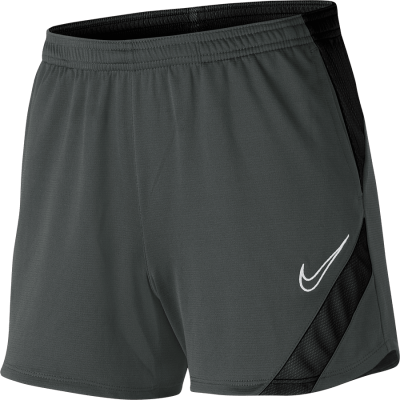 Women Nike DRY ACADEMY PRO SHORT KP - ANTHRACITE/BLACK/WHITE