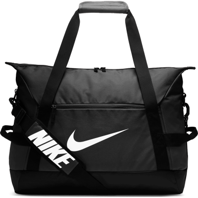 NIKE ACADEMY TEAM MEDIUM DUFF - SP20 - BLACK/BLACK/WHITE