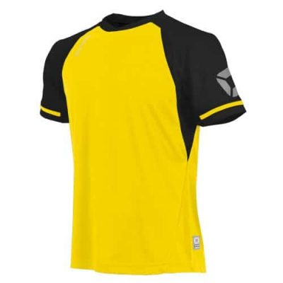 Liga Shirt S.S. Yellow/Black XXL