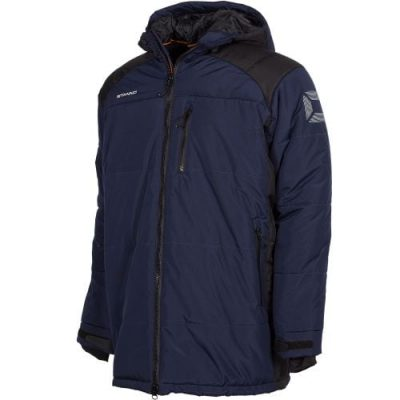 Centro Padded Coach Jacket Navy XXXL
