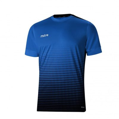 Mitre ASCENT S/S JERSEY ROYAL/BLACK