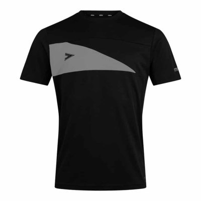 Mitre DELTA PLUS T-SHIRT BLACK/GREY
