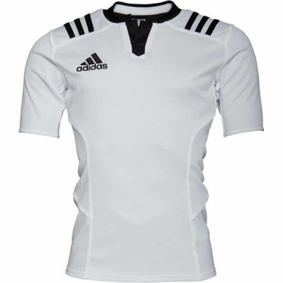 Adidas 3S Fitted Jersey White/Black