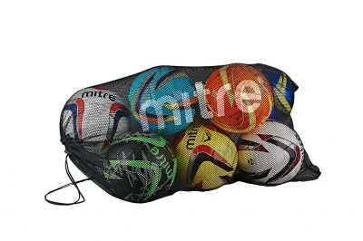 Mitre MESH BALL SACK 12 BLACK