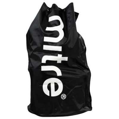 Mitre JUMBO BALL SACK 20 BLACK