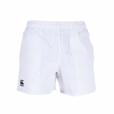 PROFESSIONAL POLYESTER RUGBY SHORT WHITE 5XL