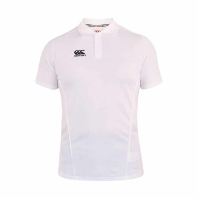 TEAM DRY POLO WHITE 5XL