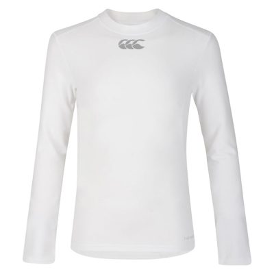 THERMOREG LONG SLEEVE TOP WHITE XS
